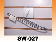 SW-027 直排輪鞋架 合槽板 鋁色