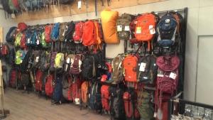 戶外登山用品店