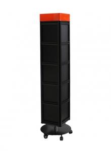 HD-064-B 四角旋轉架(黑色)