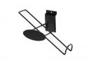 SW-026B 合槽板斜式鐵線鞋架(消光黑)