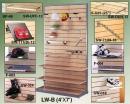 LW-B(4x7) 站立槽板壁面架不含鋁條