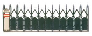 富貴型半密封式伸縮大門