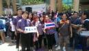 參與政府及泰辦舉辦之潑水節活動