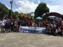 萬達集團舉辦外勞員工旅遊麥克田園北埔老街活動