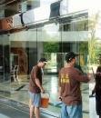 專業清洗外牆玻璃