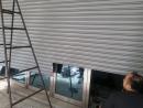 手拉鐵捲門,換新烤漆電動鐵捲門,傳統鐵捲門安裝