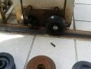 伸縮門維修,伸縮門零件,伸縮門輪子更換安裝
