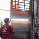 不銹鋼防盜門價格, 防盜鐵門, 白鐵門價錢, 不銹鋼大門安裝