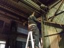 鐵捲門捲上去/捲過頭, 鐵捲門放不下來, 24h日夜急修鐵捲門