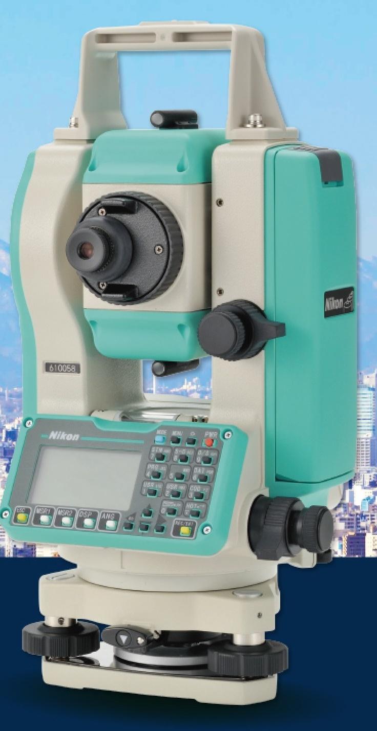 Nikon NPL-322新一代雙軸補償全站儀