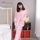 綿綿雲朵法蘭絨保暖睡衣(2色)