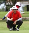 富邦仰德長春日巡賽第二回合澳洲貝克威爾(-4)並列第六(鍾豐榮攝影)50012150