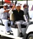 富邦仰德長春日巡賽第二回謝敏男打出76桿獲得大會同齡同桿獎(鍾豐榮攝影)50011853