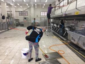 高雄餐廳廚房清潔打掃 (2)