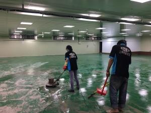 工廠地板清洗