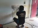 清潔除膠處理