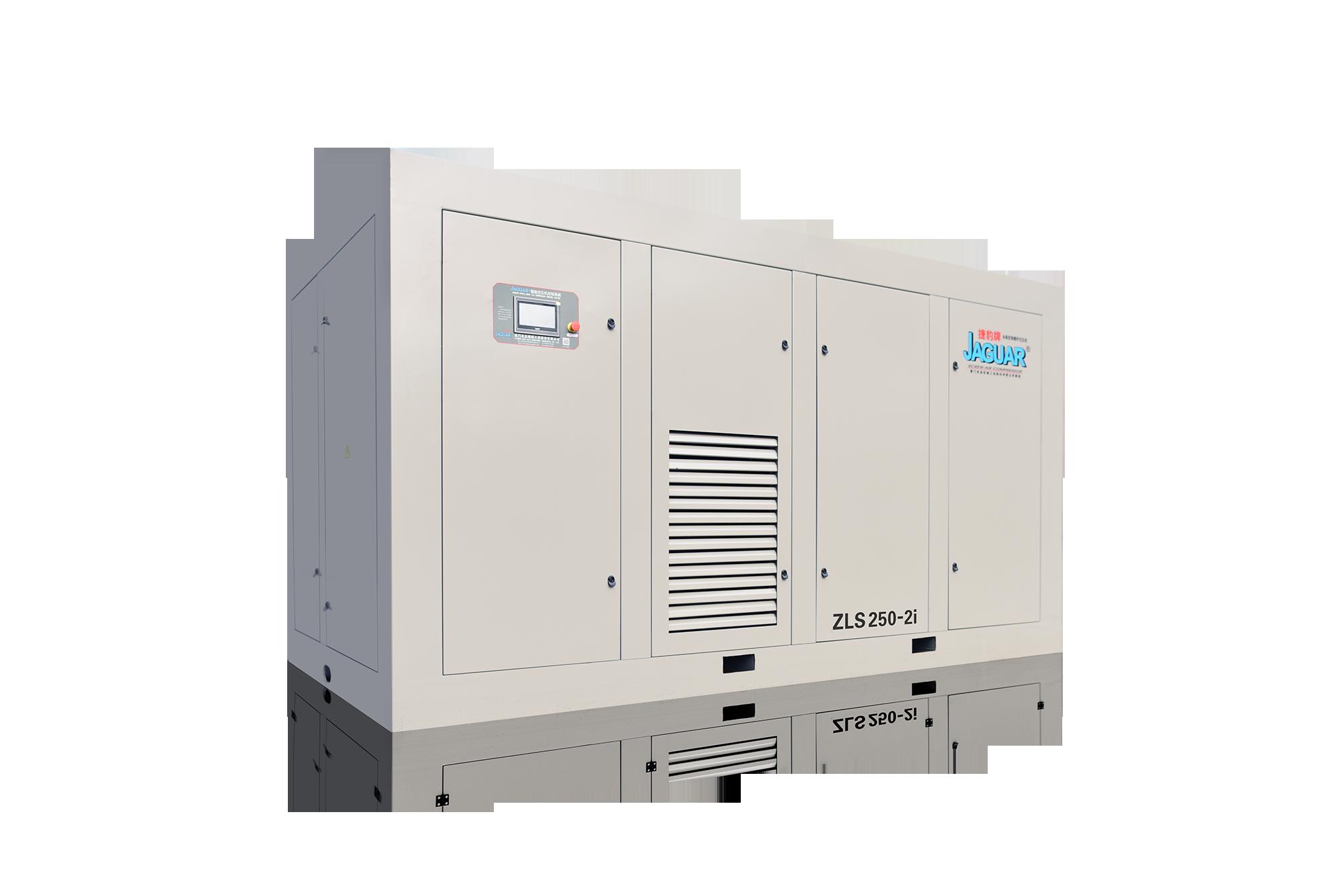 永磁變頻二級壓缩空壓機 ZLS-2i型號:ZLS20-350-2i 功率:22-250kW