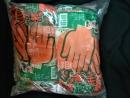手套工廠-手樂沾膠手套7針(厚款)-搬運防滑手套鋼鐵 工業用手套園藝防刺手套建築業手套好穿 止滑 安全 耐磨-台灣製