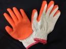 沾膠手套工廠-手樂沾膠手套7針(厚款)-搬運防滑手套鋼鐵 工業用手套園藝防刺手套建築業手套好穿 止滑 安全 耐磨-台灣製