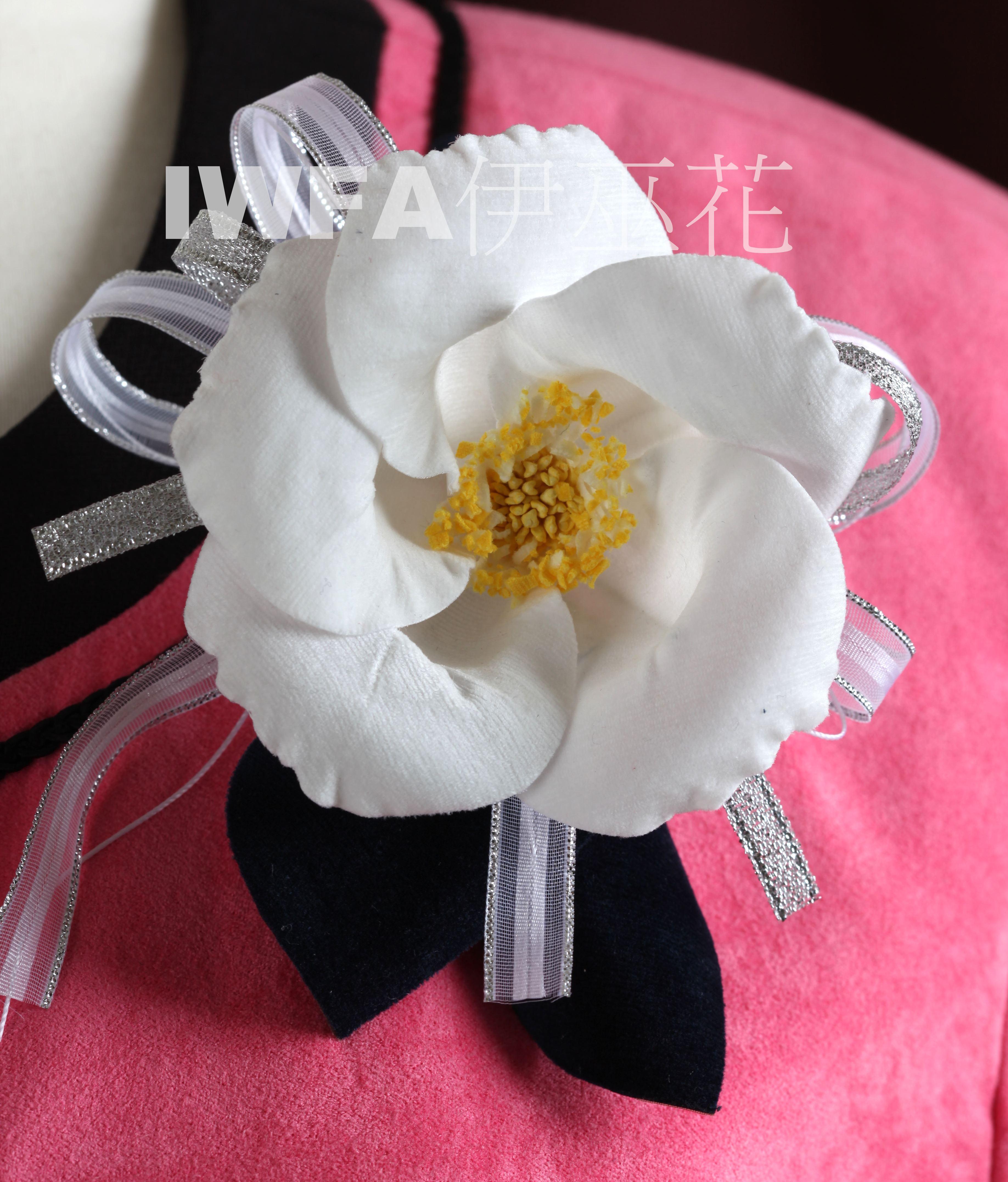 BR002-01 茶花-白色