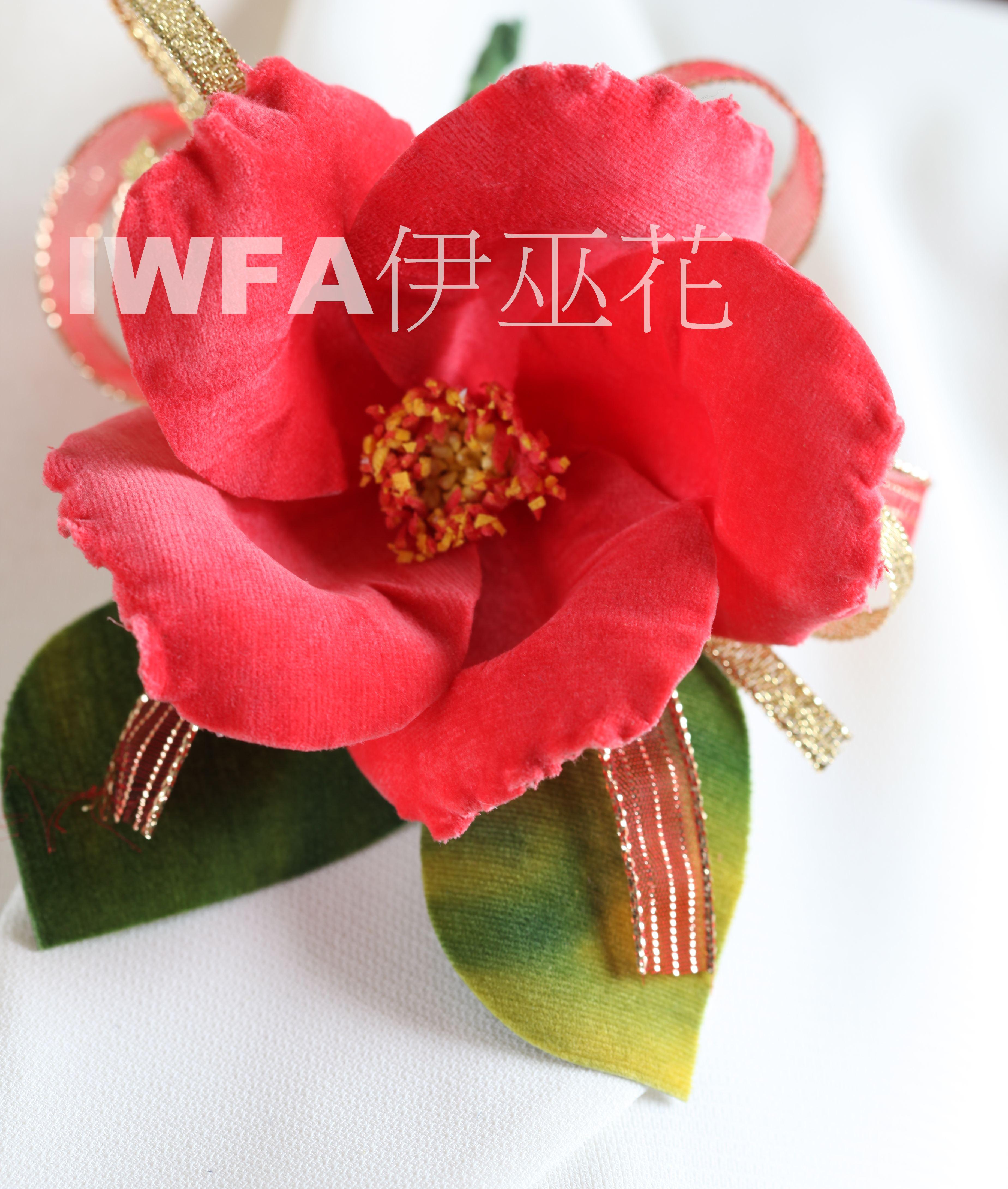BR002-04 茶花-桃紅