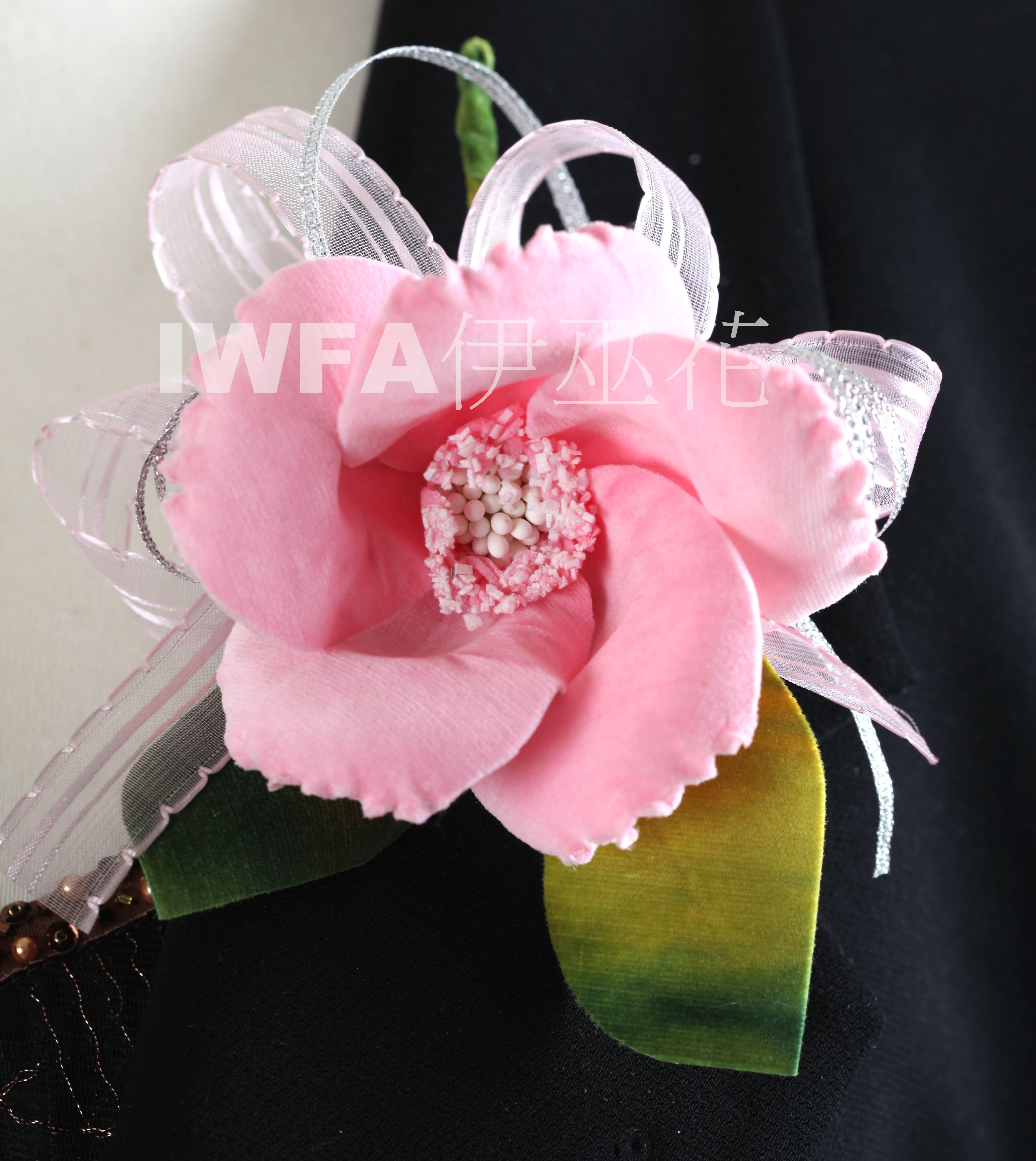 BR002-03 茶花-粉紅色