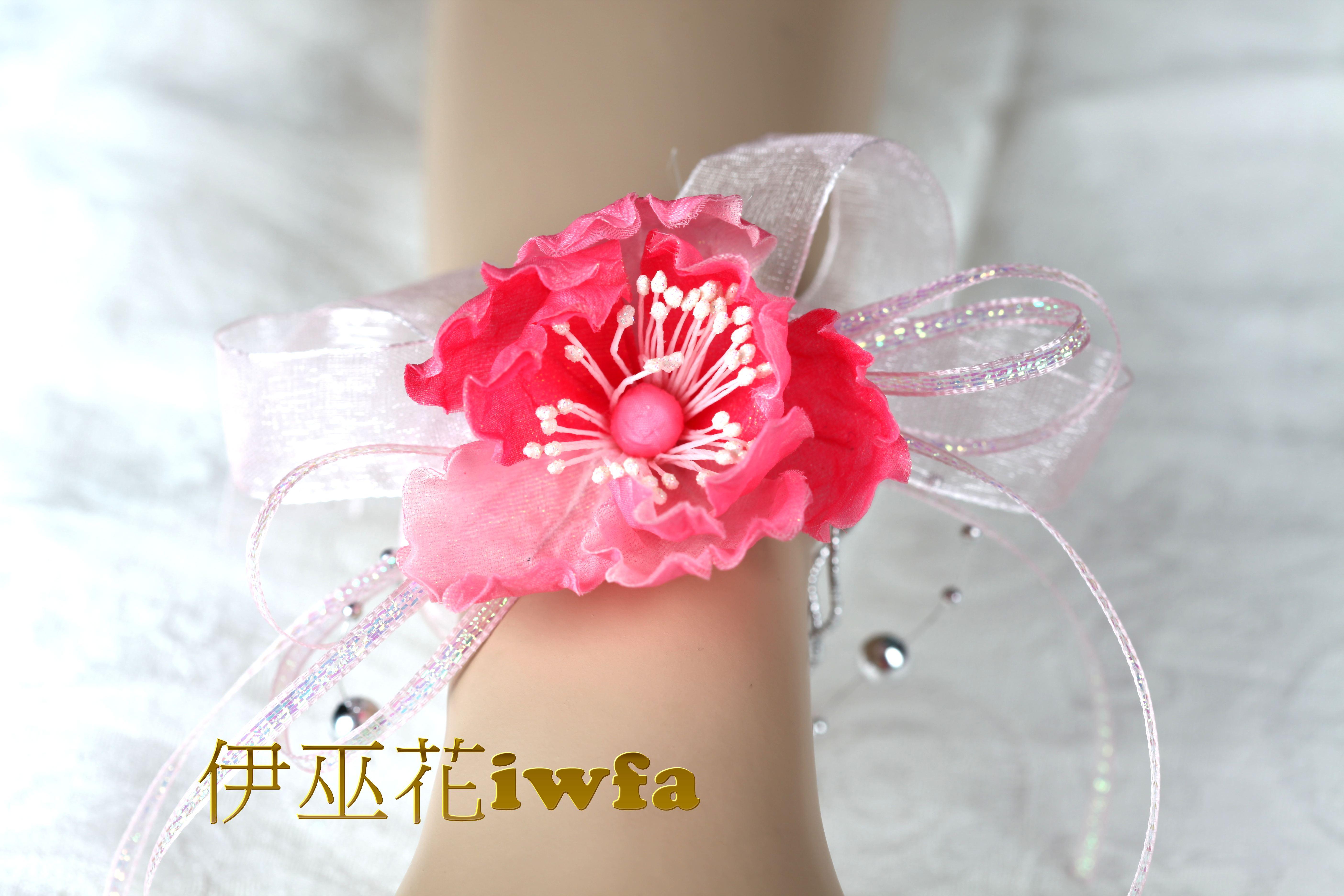 WR012 迷你牡丹 深粉紅