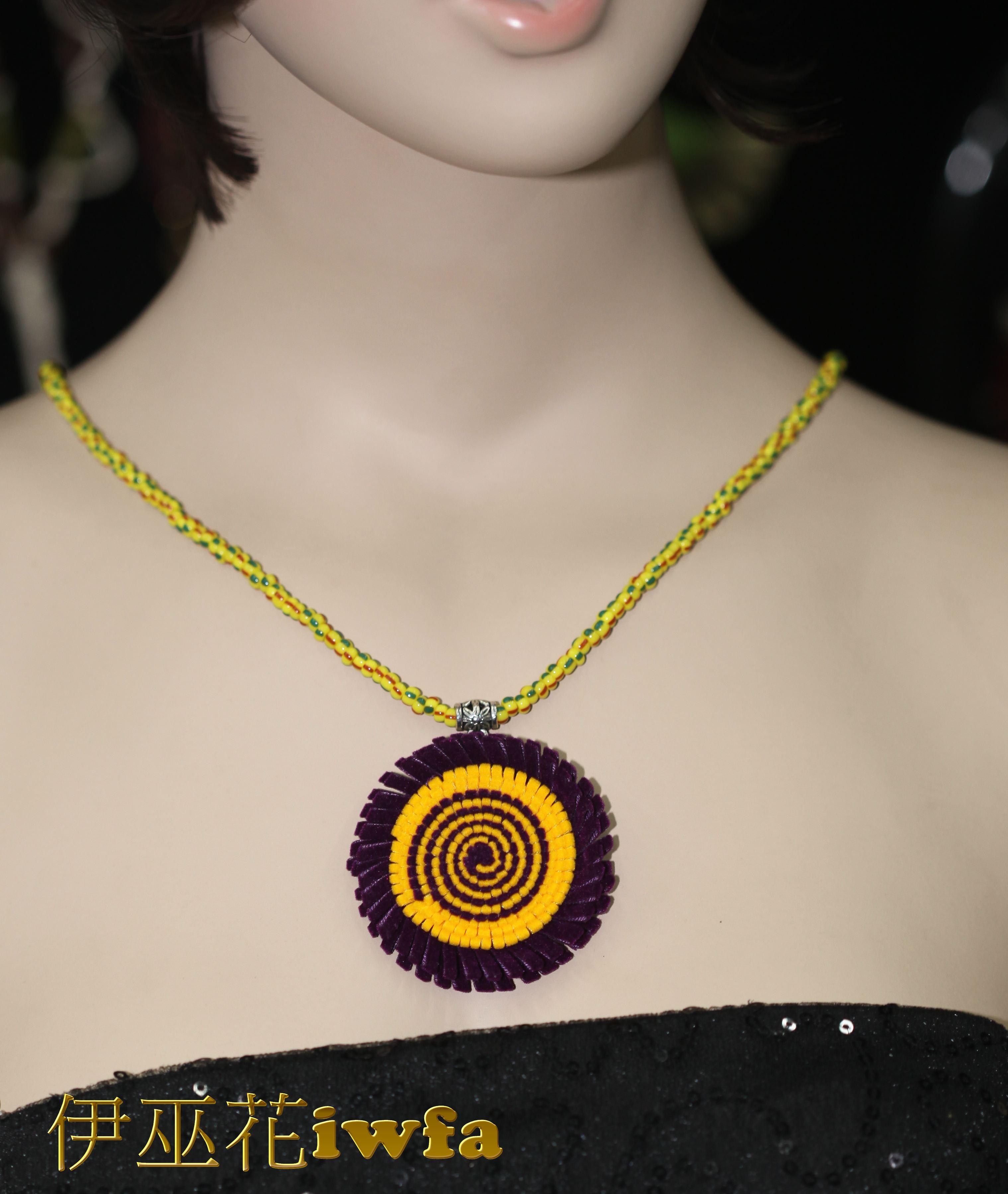亮珠--琉璃彩虹紫+黃