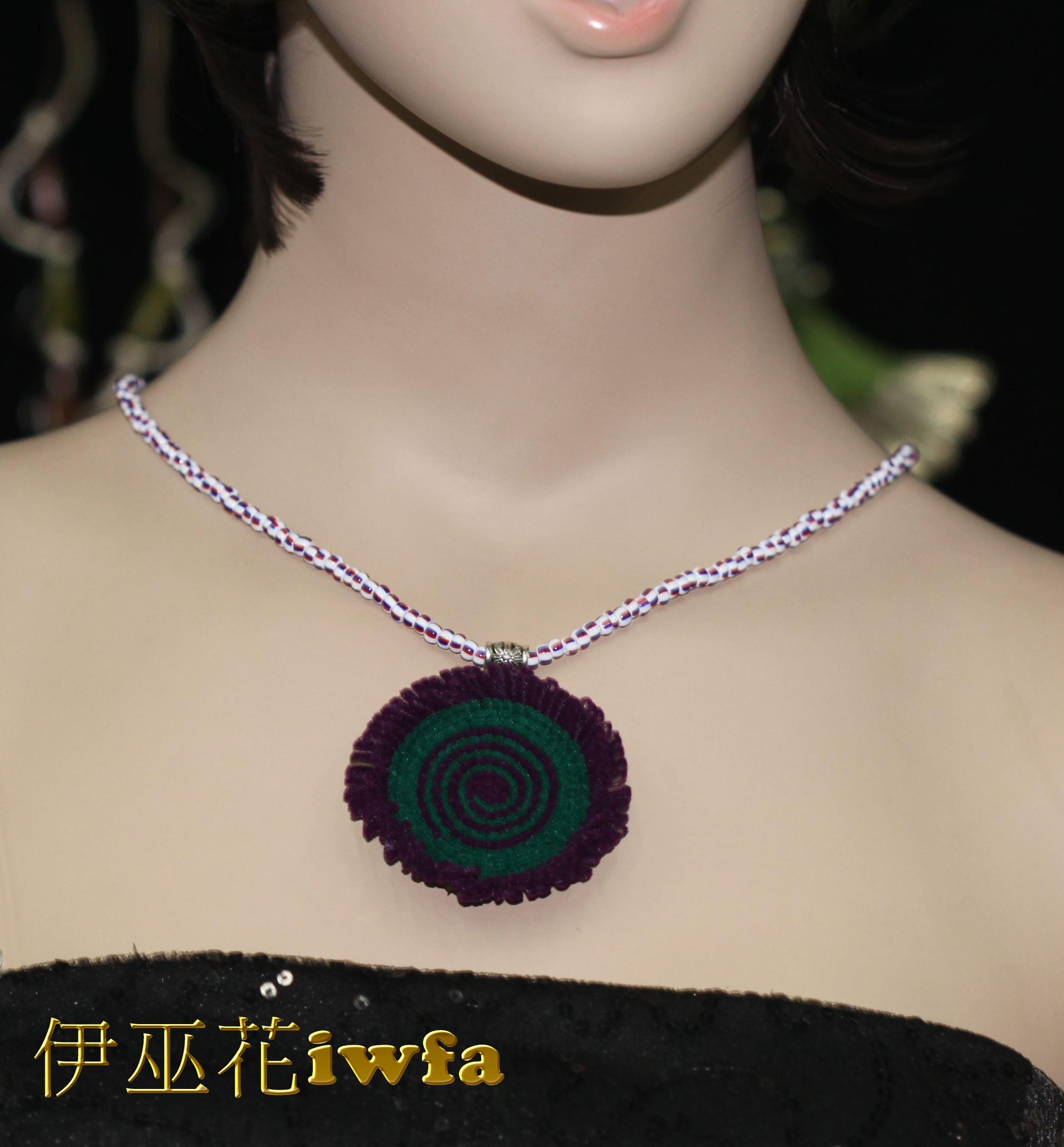 亮珠--琉璃彩虹-紫+綠