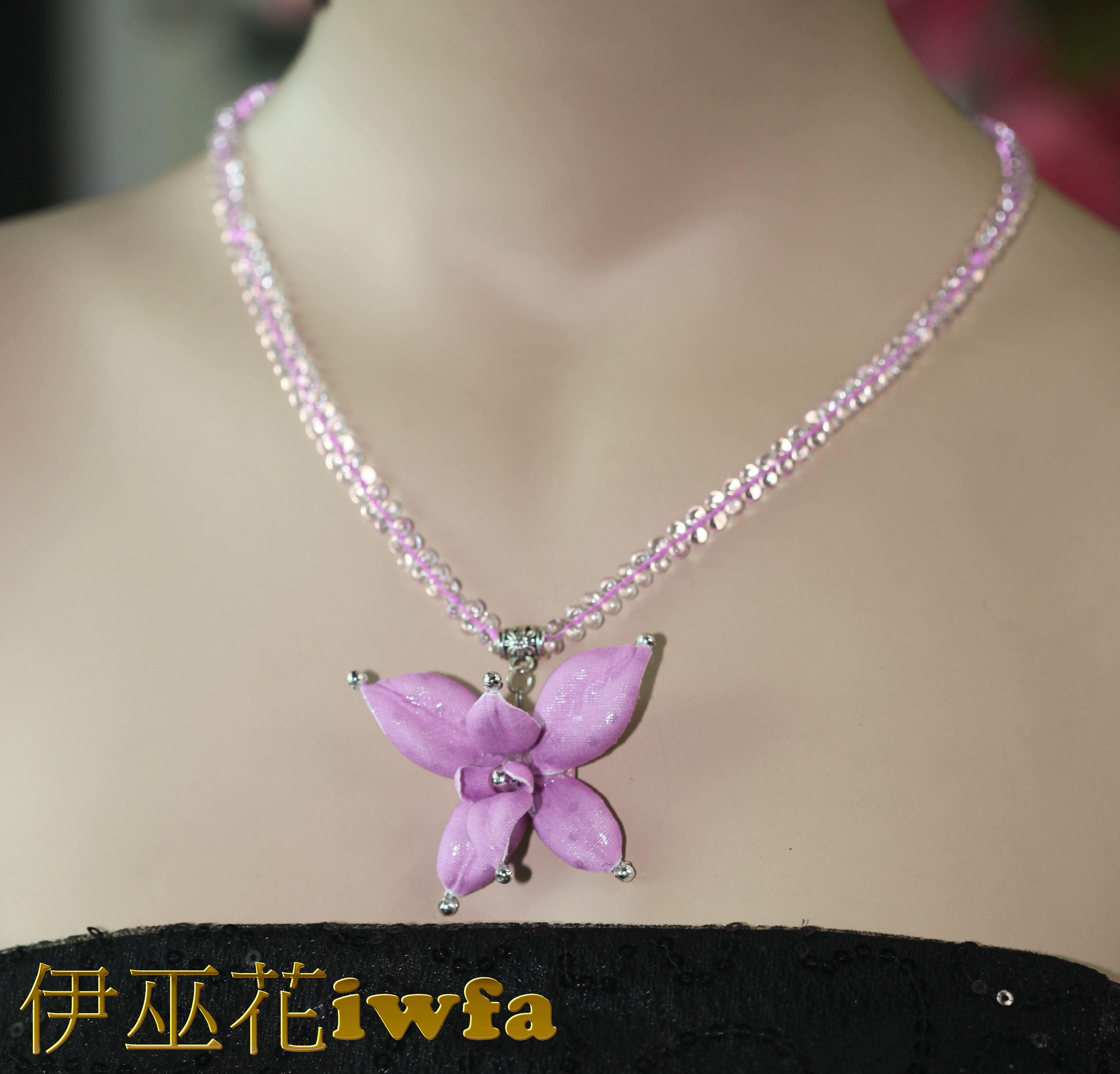 水滴--小朵石斛蘭--  紫色