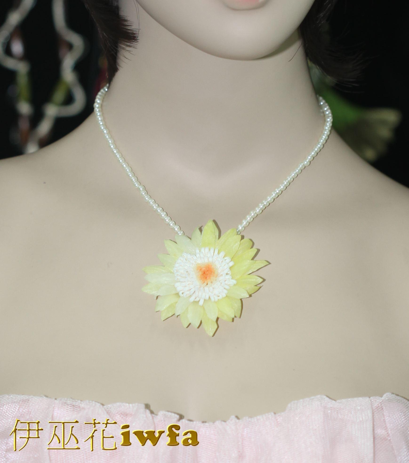 亮珠--活潑的小雛菊-鵝黃