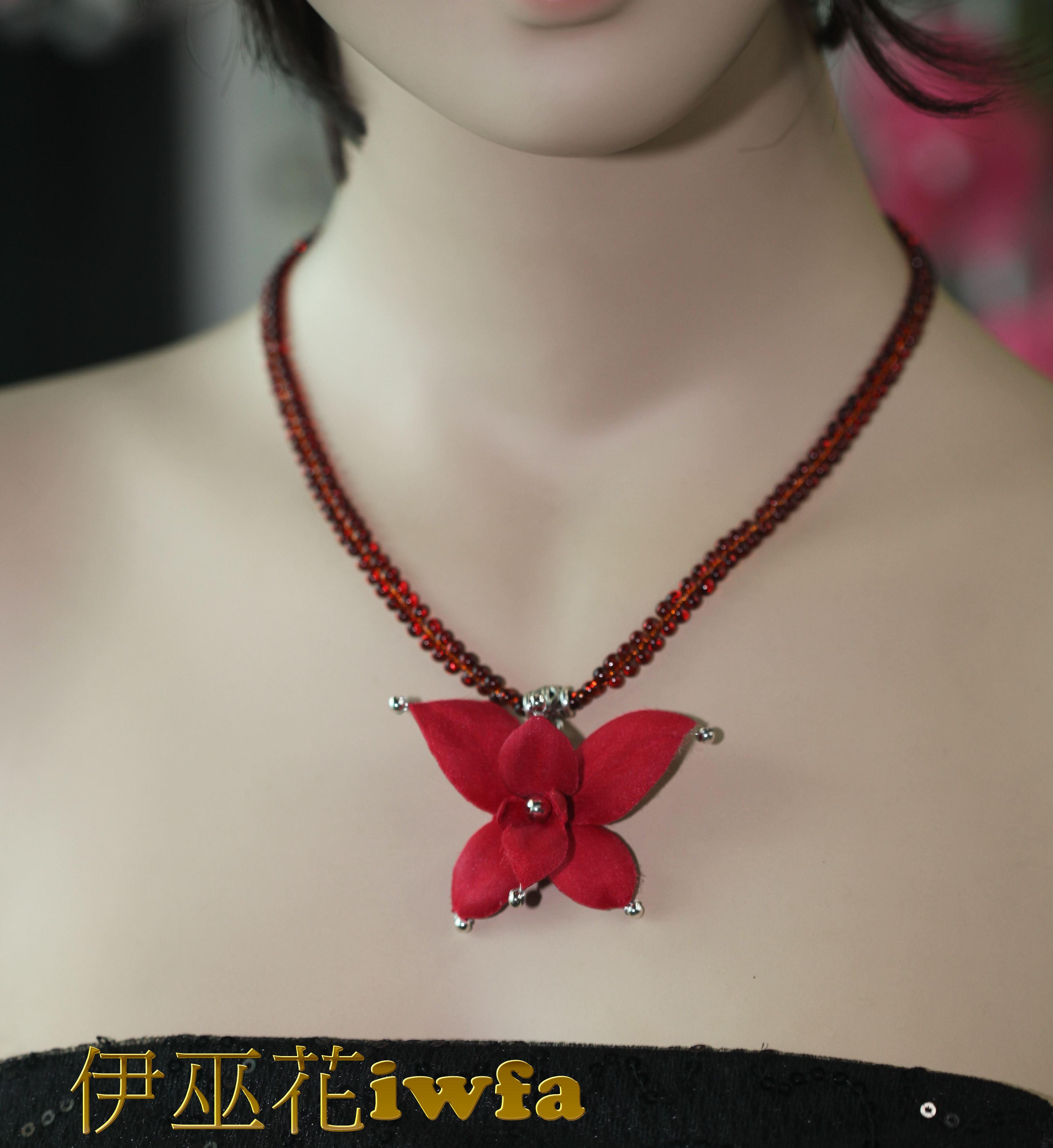 典雅-石斛蘭 紅色-2