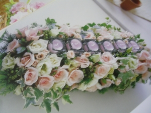 婚宴桌花設備