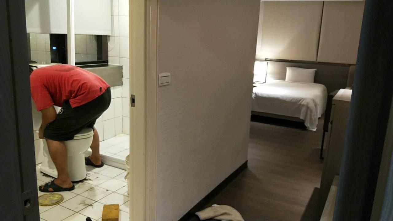 飯店馬桶管線疏通