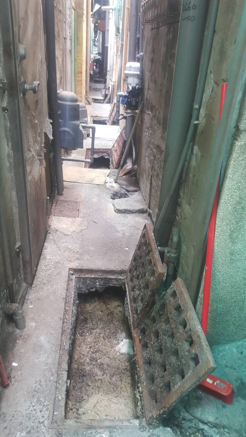 暗巷水溝清洗