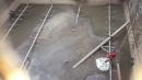 工廠污水池污泥清理前