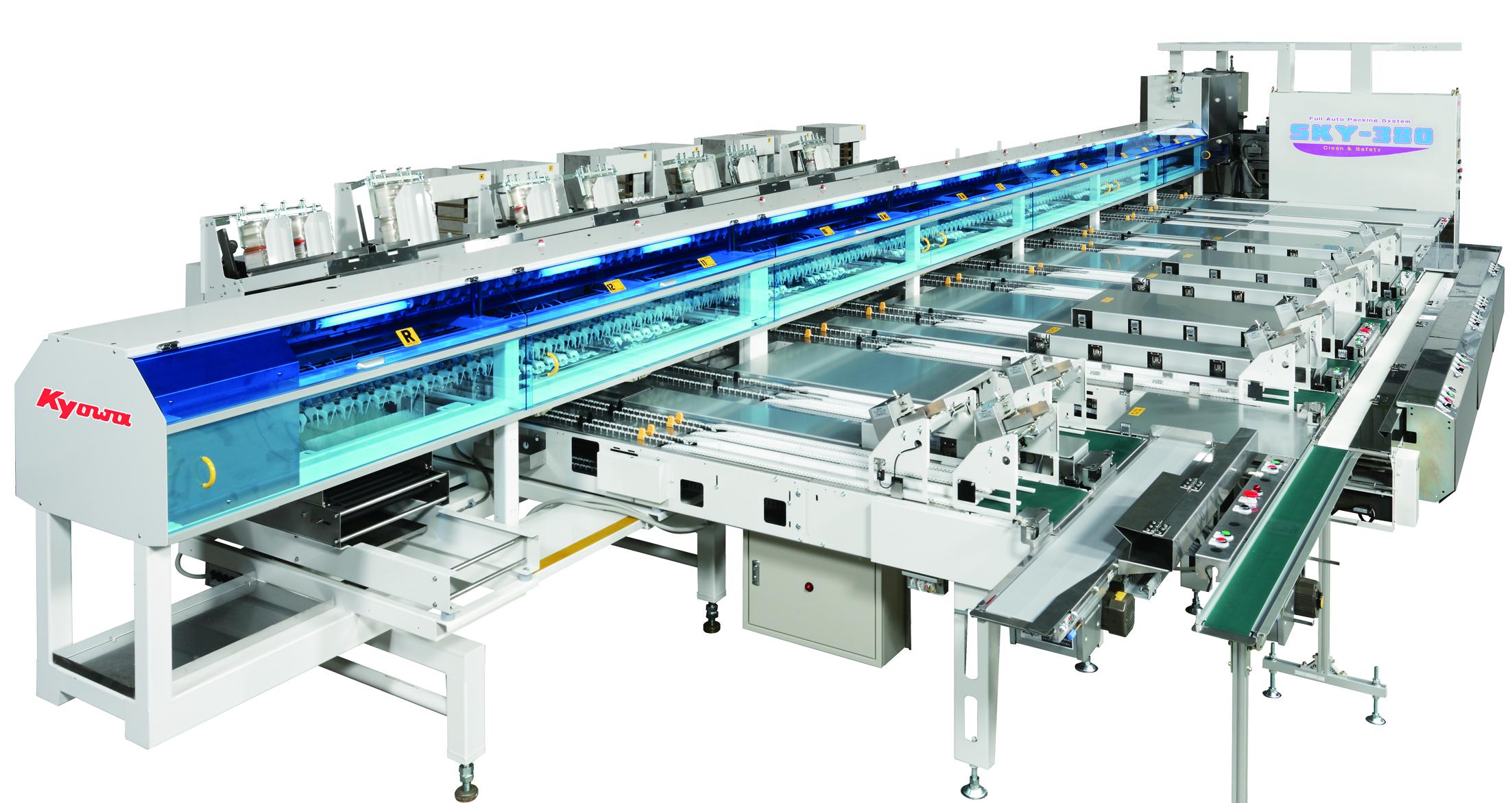 Kyowa SKY-330 蛋品清洗分級設備