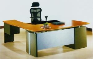 主管桌-1(安麗格水波紋)
