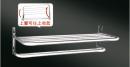 型號:HKA0821  品名:不鏽鋼201雙層(亮面)活動放衣架