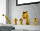 藝術(龍頭)型 浴缸五件式