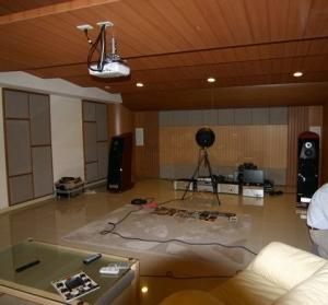 音響視聽室3D模擬圖與完工 (1)