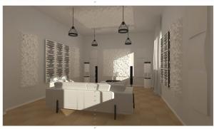 音響視聽室3D模擬圖與完工 (2)