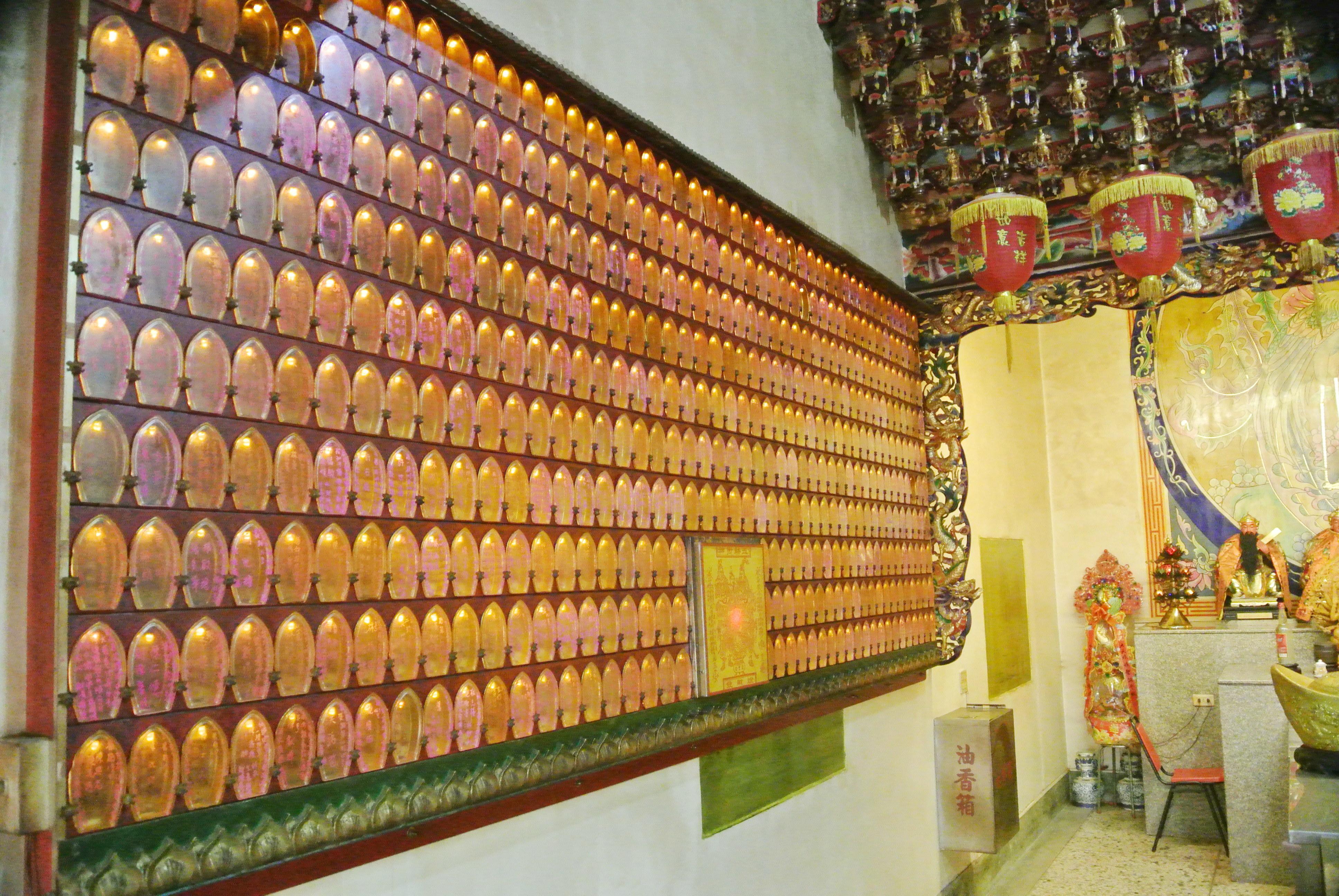 九天寺 財神燈