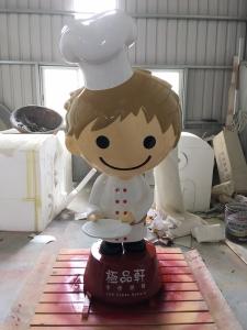 FRP大型公仔(蛋糕店)