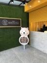 FRP大型公仔(咖啡站牌熊)