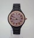 紅珊瑚珠寶健康滿天星手錶