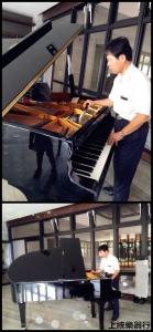 【高雄義大】安裝自動演奏平台鋼琴2