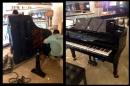 【高雄義大】安裝自動演奏平台鋼琴1
