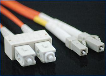 SC-LC Fiber Optic Cable