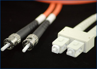 SC-ST Fiber Optic Cable